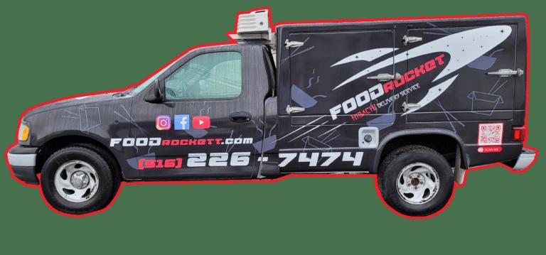 Foodrockett Menu Truck