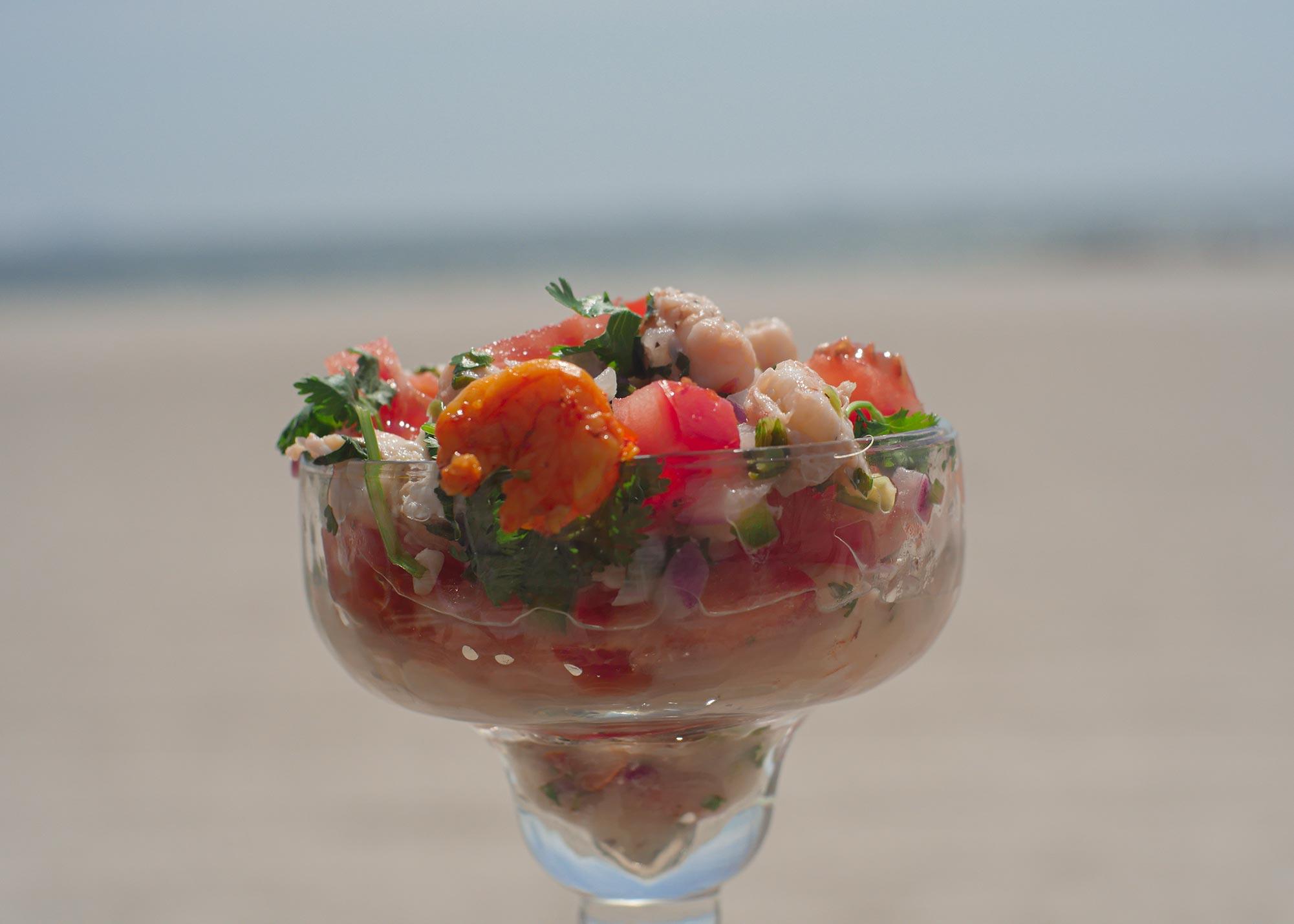 foodrockett menu Ceviche Shrimp 2