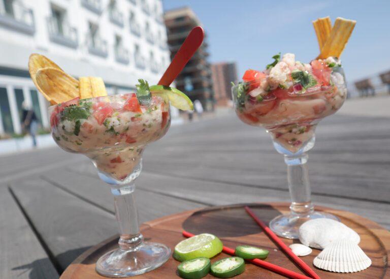 foodrockett menu ceviche fish