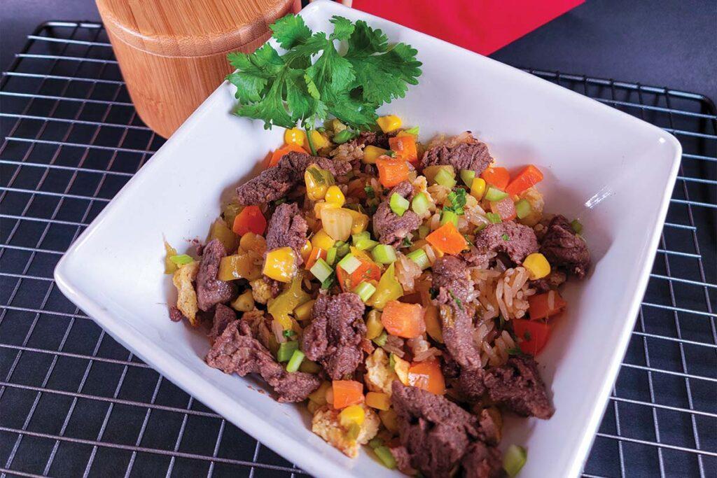 Spanish Food Hibachi beef