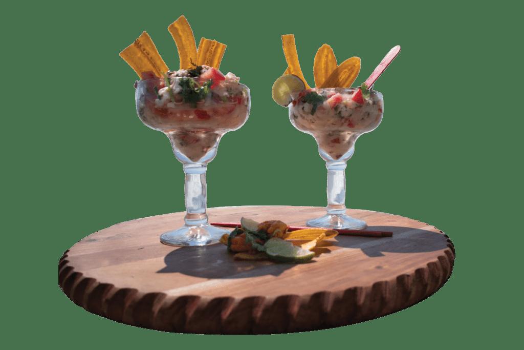 Spanish Food Ceviche